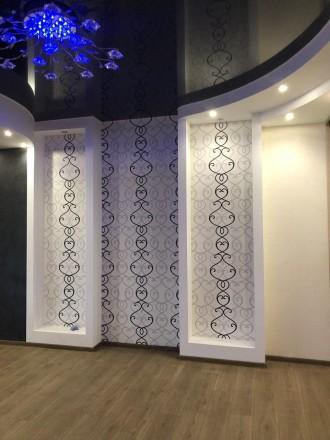 Квартира в кирпичном доме с закрытой территорией.  В квартире выполнен дизайнер. Приморский, Одесса, Одесская область. фото 11