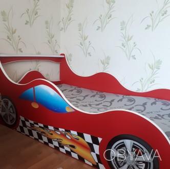 Продам детскую кровать размер 1600×900  мм с матрасом.. Одесса, Одесская область. фото 1