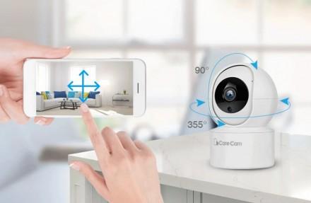 Беспроводная поворотная IP камера WiFi microSD CareCam 23ST позволит быть в курс. Одесса, Одесская область. фото 5