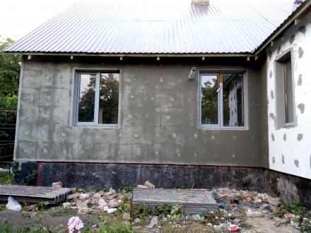 Виконуємо фасадні роботи: утеплення, покраска, декор.... Також оздоблюємо підмур. Тернопіль, Тернопольская область. фото 4