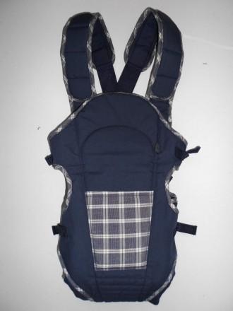 Легкая переноска для малыша, рюкзачек кенгуру Mother care Материал:  polyester,. Мариуполь, Донецкая область. фото 2