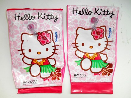 Надувные манжеты для плавания Hello Kitty  Размер : 24 х 14 см. Рассчитаны на в. Маріуполь, Донецкая область. фото 2