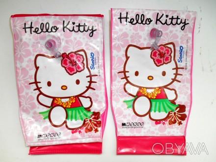 Надувные манжеты для плавания Hello Kitty  Размер : 24 х 14 см. Рассчитаны на в. Маріуполь, Донецкая область. фото 1