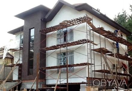 Фасадные работы. Утепление, отделка, облицовка фасадов домов