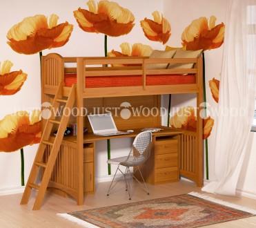 Детская кровать-чердак Марли. Киев. фото 1