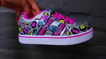 Детские роликовые кроссовки марки Heelys (Оригинал). Киев. фото 1