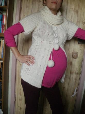 --Милый свитерок слоновой кости для животика)В идеальном состоянии,одевался триж. Киев, Киевская область. фото 2