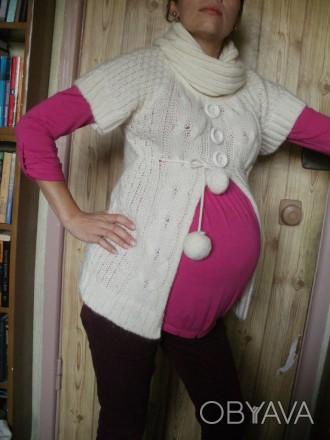 --Милый свитерок слоновой кости для животика)В идеальном состоянии,одевался триж. Киев, Киевская область. фото 1