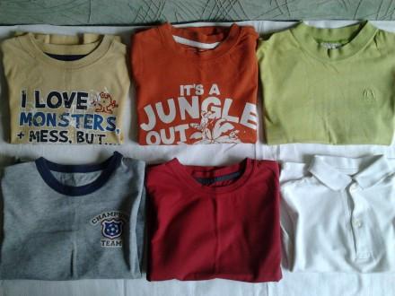 Летние футболки , рост 104. Мариуполь. фото 1