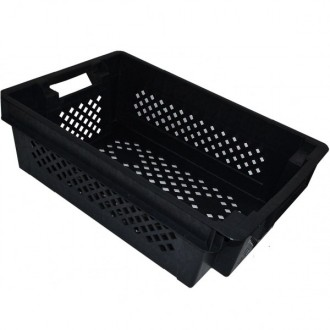 Пластиковый ящик для овощей купить в Запорожье можно у производителя в интернет-. Верхнеднепровск, Днепропетровская область. фото 3