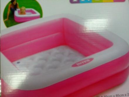 INTEX Детский надувной бассейн Intex ,(85 см х 85 см х23 см). Купянск. фото 1
