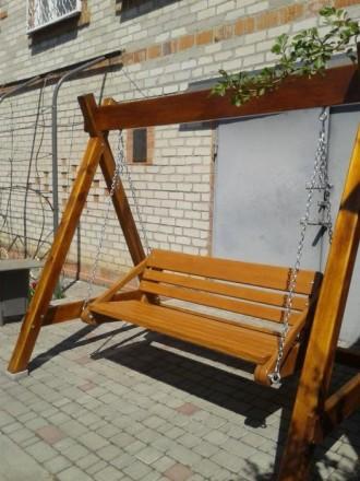 Качели прочные, стойкие к механическим повреждениям и влаге, благодаря высококач. Мелитополь, Запорожская область. фото 3