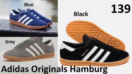 Кеды Adidas Originals Hamburg. Киев. фото 1
