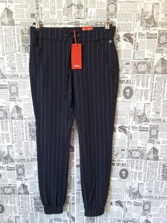 Стильные  брюки в полоску  S.oliver uk 8 , наш 42. Полтава. фото 1