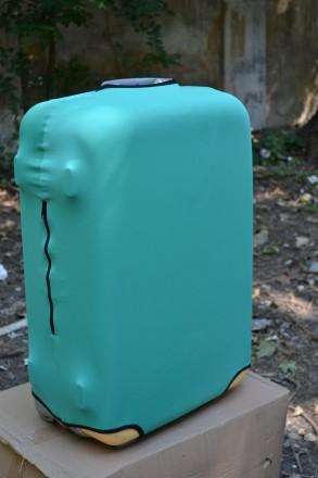 чехол на чемодан Coverbag дайвинг. Одесса. фото 1