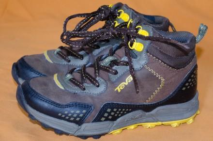 Демисезонные кожаные ботинки TEVA . Оригинал. Состояние новых. Киев. фото 1