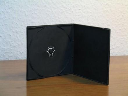 Разнообразные коробочки для дисков, хороший ассортимент. CD-Box Slim Clear 5.2 . Киев, Киевская область. фото 7