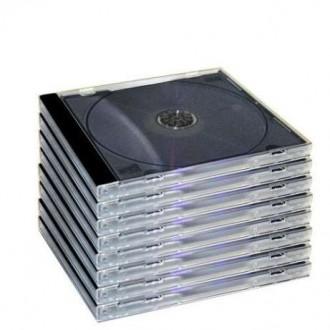 Разнообразные коробочки для дисков, хороший ассортимент. CD-Box Slim Clear 5.2 . Киев, Киевская область. фото 8