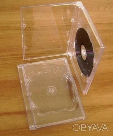 Разнообразные коробочки для дисков, хороший ассортимент. CD-Box Slim Clear 5.2 . Киев, Киевская область. фото 1