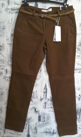 Микровельветовые , наш 44-46 брюки s.oliver uk 10/32. Пирятин. фото 1