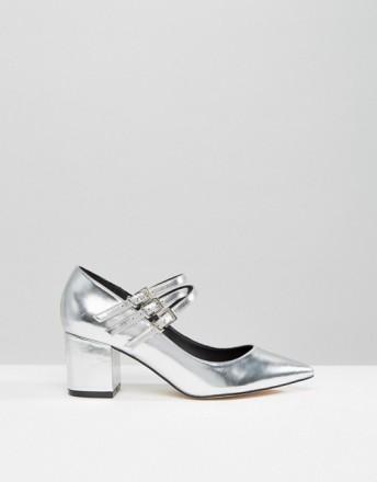 Туфли женские ASOS SABINE серебряные СРОЧНО ПРОДАМ по закупочной цене, не подош. Чернигов, Черниговская область. фото 3