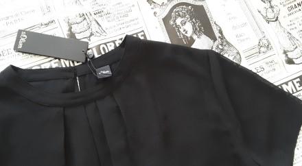 Черная лаконичная блуза – это базовая вещь в любом женском гардеробе. Она подойд. Пирятин, Полтавская область. фото 4