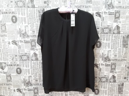 Черная лаконичная блуза – это базовая вещь в любом женском гардеробе. Она подойд. Пирятин, Полтавская область. фото 7