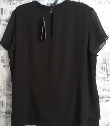 Черная лаконичная блуза – это базовая вещь в любом женском гардеробе. Она подойд. Пирятин, Полтавская область. фото 2