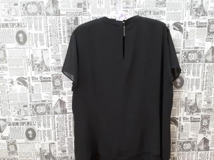 Черная лаконичная блуза – это базовая вещь в любом женском гардеробе. Она подойд. Пирятин, Полтавская область. фото 8