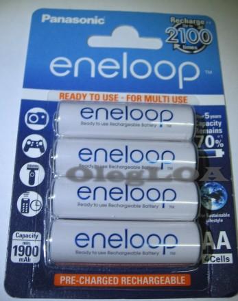 Аккумуляторы Panasonic Eneloop AA/R6 2000мач с низким саморазрядом-Япония. Черновцы. фото 1