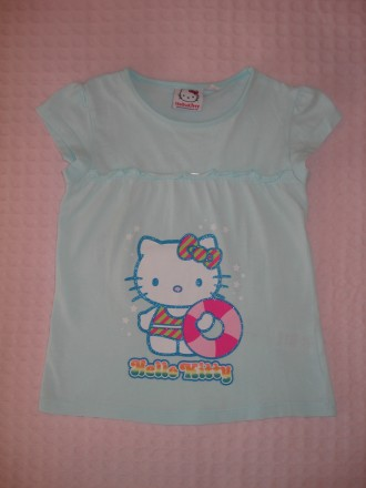Футболка Hello Kitty на девочку 4-5 лет. Херсон. фото 1