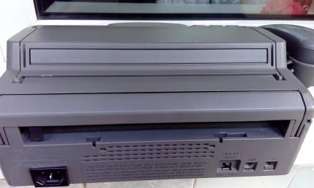 Отличный полностью рабочий факс + рулон бумаги. Киев, Киевская область. фото 3