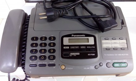 Отличный полностью рабочий факс + рулон бумаги. Киев, Киевская область. фото 2