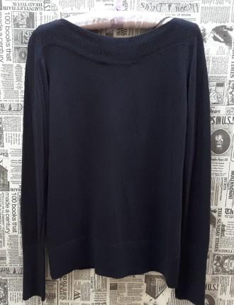 Чудесный джемпер тёмно - синего цвета от немецкого бренда S.Oliver покоряет с пе. Пирятин, Полтавская область. фото 5