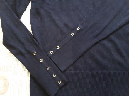 Чудесный джемпер тёмно - синего цвета от немецкого бренда S.Oliver покоряет с пе. Пирятин, Полтавская область. фото 8