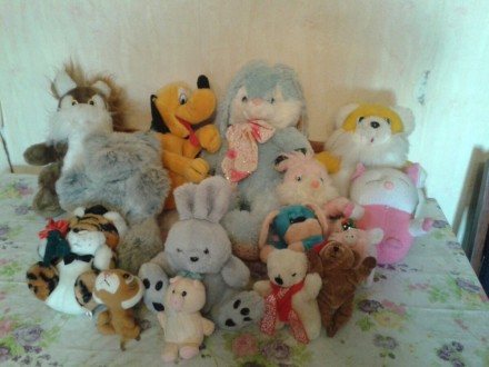 Мягкие игрушки. Киев. фото 1