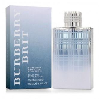 Burberry Brit Summer for Men туалетная вода 100 ml. Барбери Брит Саммер Фор Мен. Киев. фото 1
