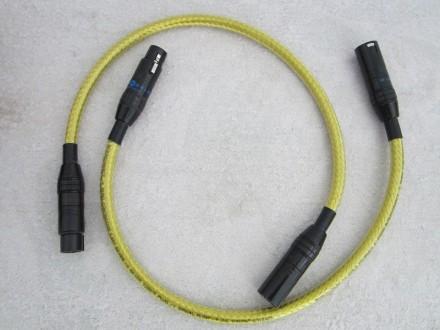 Продаю топовые балансные кабеля WIRE WORLD GOLD ECLIPSE. Кривой Рог. фото 1