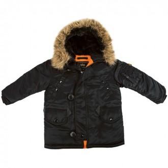 Детские куртки Аляска Alpha Industries Youth N-3B Parka. Днепр. фото 1