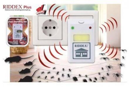 Электромагнитный отпугиватель грызунов и насекомых Ридекс (Riddex Plus. Киев. фото 1