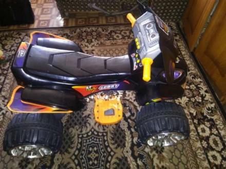 Квадроцикл на аккумуляторе sf 125-x sport 35 vks. Средняя скорость 4-5 км/ч  Ве. Нежин, Черниговская область. фото 2