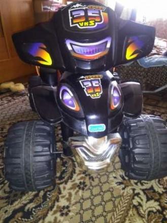 Квадроцикл на аккумуляторе sf 125-x sport 35 vks. Средняя скорость 4-5 км/ч  Ве. Нежин, Черниговская область. фото 4