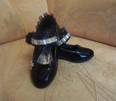 Красивые туфли для девочки. Белая Церковь. фото 1