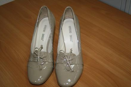 Туфли Antonio Biaggi натуральная кожа, размер 37.. Киев. фото 1