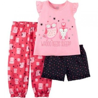Новая пижамка фирмы Картерс на девочку 4-5 лет. Бердичев. фото 1
