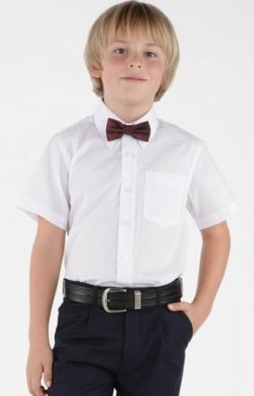 Школьные котоновые рубашки для мальчиков на р-116-134. Одесса. фото 1