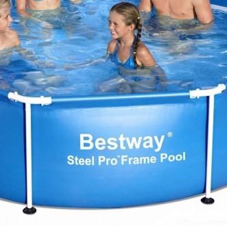 Каркасный бассейн BestWay 56045 (56431) сборный Steel Pro Frame 244 х 61 см  О. Днепр, Днепропетровская область. фото 4