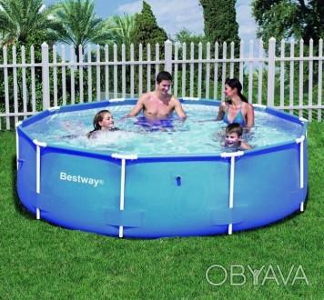 Каркасный бассейн BestWay 56045 (56431) сборный Steel Pro Frame 244 х 61 см  О. Днепр, Днепропетровская область. фото 1