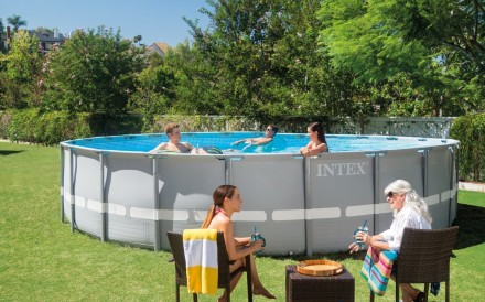 Каркасный бассейн басейн Intex 28310. Ultra Frame Pool. Днепр. фото 1