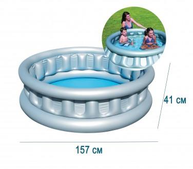 Детский надувной бассейн басейн BestWay 51080 Космический корабль   Общие хар. Днепр, Днепропетровская область. фото 3